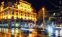 Hotel Monopol at night (A. Wee) Tags: lucerne switzerland 卢塞恩 瑞士 luzern 夜晚 hotel 酒店 pilatusstrasse