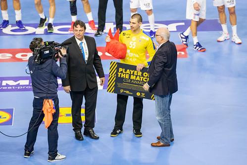 Marin Sego Team Croatia Handball World Championship 2019  Player of the Match