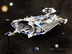 Interplanetary Cruiser (did b) Tags: space lego spaceship scifi spacecraft