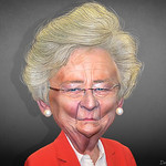 Kay Ivey - Caricature thumbnail