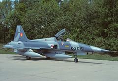 NF-5A K-3061 - RNethAF 314Sqn 870516 Eindhoven (Nikon Photographer NL) Tags: rnethafnavy military dutch nederlands aviation