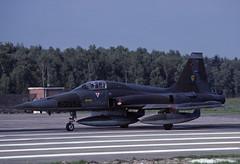 NF-5A K-3056 - RNethAF 315Sqn 851002 Twenthe (Nikon Photographer NL) Tags: rnethafnavy military dutch nederlands aviation