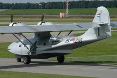 PBY-5A 16-218 (PH-PBY) - RNethNavy:Stichting Exploitatie Catalina 050828 Lelystad 1009 (Nikon Photographer NL) Tags: rnethafnavy military dutch nederlands aviation