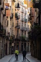 the streets of Girona (beeldmark) Tags: spanje catalonië stad gerona straatfoto vroegeochtend catalonia catalunya cataluña city españa spain earlymorning beeldmark pentax k5