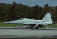 NF-5A K-3045 - RNethAF 313Sqn 870915 Twenthe (Nikon Photographer NL) Tags: rnethafnavy military dutch nederlands aviation