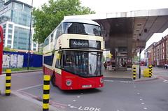 IMGP9639 (Steve Guess) Tags: vauxhall lambeth london england gb uk bus station tfl transportforlondon borismaster borisbus newroutemaster newbusforlondon nb4l nbfl wright goahead general ltz1050 lt50