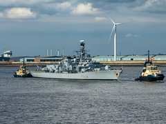 L2019_1209 - HMS Northumberland - River Mersey - May 18, 2019 (www.jhluxton.com - John H. Luxton Photography) Tags: 2019 england hmsnorthumberland irishseashipping johnhluxtonphotography leica leicavlux3 liverpool mersey merseyshipping merseyside rivermersey type23 type23frigate uk ship shipping warship wwwjhluxtoncom f238