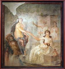 Io in Canopus (kate223332) Tags: romanfresco mythologicalpainting fresco painting wallpainting italy antiquity museum archeology pompeii isistemple landscape