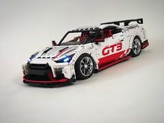 Nissan GT-R chromed