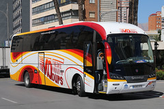 6083 GTX, Calle Gerona, March 22nd 2018 (Southsea_Matt) Tags: 6083gtx scania sunsundegui medelorozco callegerona benidorm spain march 2018 spring canon 80d bus omnibus coach passengertravel publictransport vehicle