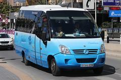 0144 GDM, Calle Gerona, March 22nd 2018 (Southsea_Matt) Tags: 0144gdm galera callegerona benidorm spain march 2018 spring canon 80d bus omnibus coach passengertravel publictransport vehicle