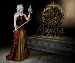 One Queen to Rule Them All (SL Freebie Addiction) Tags: sl secondlife slfashion slfreebies enchantment thewhitearmory dela cinoe raindale roseyposey 7deadlyskins