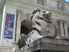 2019 Lion Under Shady Branches New York Public Library 8729 (Brechtbug) Tags: 2019 lions new york public library statues lion hanging shadows 42nd street 5th avenue nyc 05182019 may springtime soon spring weather eventually animal cat feline statue sculpture art cats ave st gargoyles gargoyle reclining repose resting facade stairs front entrance