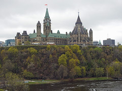 The path below the slopes of Parliament Hill still flooded due to this spring's thaw in Ottawa, Ontario (Ullysses) Tags: parliamenthill collineduparlement ottawa ontario canada ottawariverfloodof2019 ottawariver rivièredesoutaouais flood inondation path sentier houseofparliament