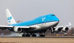 B747   PH-BFM   AMS   20110312 (Wally.H) Tags: boeing 747 boeing747 b747 phbfm klm royaldutchairlines klmasia ams eham amsterdam schiphol airport