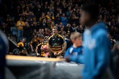 Joe Launchbury 100th Premiership game (davidhowlett) Tags: ricoharena quins wasps premiership waspsrugby gallagher rugbyunion ricoh rugby coventry harlequins