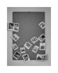 Memories (CJS*64) Tags: snapshots memories board noticeboard remember images photos us d7000 dslr 18105mmlens nikkorlens nikond7000 craigsunter cjs64 cjs blackwhite bw blackandwhite whiteblack whiteandblack mono monochrome