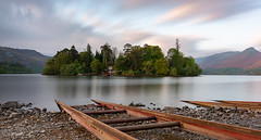 Derwent Isle (robbaxter71) Tags: derwentwater cumbria keswick lakedistrict landscape water sky lake longexposure district lakes nisi nisifilters hills mountains