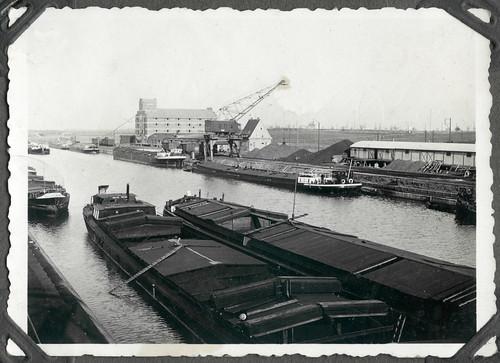 Album D254 Hafenanlage, 1920-1940er