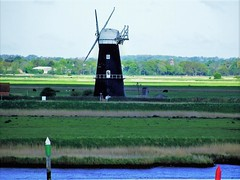 Berney Arms, Reedham, Norfolk (flicky@flickr) Tags: berneyarms reedham norfolk windmill windpump tower mill drainage