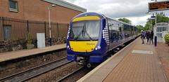 Abellio Scotrail Class 170 170404 at Maryhill Station with service 2W66 (19-05-19) (Ricardo_Cameron) Tags: trains abellio scotrail class170 1704 170404 turbostar bombardier