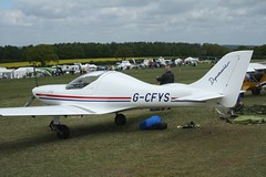 G-CFYS (IndiaEcho) Tags: gcfys wt9 dynamic eghp popham airport airfield light general civil aircraft aeroplane aviation basingstoke hampshire england canon eos 1000d microlight fly in