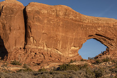 South Window, Arches National Park (aud.watson) Tags: america northamerica us usa utah moab archesnationalpark windows northwindow southwindow turretarch desert sandstone sand rock arch arches spire spires fin fins erosion sunset dusk