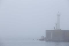 3317 (Keiichi T) Tags: 6d canon eos 日本 japan people sea water 人 水 海 lighthouse fog 霧 灯台