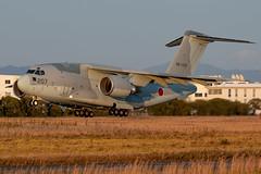 JASDF Kawasaki C-2 88-1207 / 207 (Vortex Photography - Duncan Monk) Tags: jasdf japan japanese air self defence force c2 mito hamamatsu base festival airshow 2018 transport airlift 881207 207 kawasaki take off
