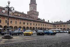pianetadelta (lorellabianchi) Tags: delta piazza vigevano cars piazzaducale