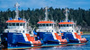 2019 - Port of Nanaimo - Spill Response Vessels (Ted's photos - For Me & You) Tags: 2019 bc britishcolumbia canada cropped nikon nikond750 nikonfx nanaimo tedmcgrath tedsphotos vignetting westerncanadamarineresponsecorporation wcmrc portofnanaimo straitsentinel coastalsentinel gulfsentinel boats ships trio three spillresponse spillresponseboat bluesky blue coastalresponsevessels cans2s