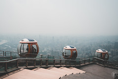 Bubble Tram | Canton Tower (kachaneawsuparp) Tags: sony sonya7rii a7rii asia a7 emount 35mm 1635 1635gm 16mm 1635mm gm guangzhou gmaster cityscape lens landscape l fe fullframe f28 fulframe china canton tower sky
