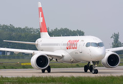 HB-JCG A220-300 Swiss (MM Aviation Photography) Tags: airbus a220 a220300 bcs3 hbjcg maastricht mst ehbk swiss
