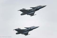 IMG_6684 (sisak.marton) Tags: gripen hungary force air flight formation aircraft airplane jet fighter