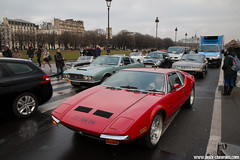 Traversée de Paris 2017 - De Tomaso Pantera (Deux-Chevrons.com) Tags: detomasopantera de tomaso pantera detomaso car coche voiture auto automobile automotive paris france traverséedeparis classic classique ancienne collector collection collectible vintage oldtimer