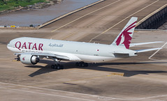 QATAR AIRWAYS CARGO B777-F A7-BFO 005 (A.S. Kevin N.V.M.M. Chung) Tags: aviation aircraft aeroplane airport airlines plane spotting boeing b777 b777f mfm macauinternationalairport qatar cargo taxiway apron