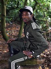 IMG_4603h (Defever Photography) Tags: blackmodel male model ghana belgium ghent portrait fashion adidas green