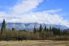 """""""40 miles from nowhere"""" (neukomment) Tags: alaska road nabesnaroad mentastamountains mountains may 2019 spring wiiderness canoneosrebelt5i 18250mmf3563dcosmacrohsm sigmalens"""
