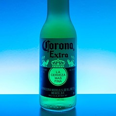 Corona under blue(ish) light 🍺🍵 #corona #beer #led #blue #green #white #wood #humidity #glass #delicious #greece #nikon #d3300 #lightroom #photoshop @corona (paulmpts_photography) Tags: ifttt instagram corona under blueish light 🍺🍵 beer led blue green white wood humidity glass delicious greece nikon d3300 lightroom photoshop