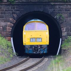 Western Portal (Treflyn) Tags: portal class 52 western diesel hydraulic d1062 westerncourier foley park tunnel severn valley railway svr 2019 spring festival