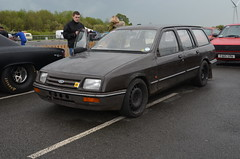 (Sam Tait) Tags: santa pod raceway england race track drag strip door slammers ford sierra estate cosworth cossie brown