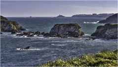Ocean north of Santa Gadea (Luc V. de Zeeuw) Tags: coast coastline ocean rocks water waves castropol asturias spain