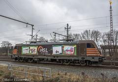 HSL 187-537, Bad Bentheim (cellique) Tags: hsl 187537 badbentheim cargo goederentrein spoorwegen treinen eisenbahn zuge railway train
