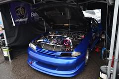 (Sam Tait) Tags: santa pod raceway england drag racing race track doorslammers nissan skyline r33 gt grr gts