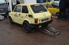 (Sam Tait) Tags: santa pod raceway england drag racing race track doorslammers fiat 126 toyota powered power mr2