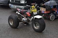 (Sam Tait) Tags: santa pod raceway england drag racing race track doorslammers honda ata 125 90 trike tricycle