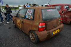 (Sam Tait) Tags: santa pod raceway england drag racing race track doorslammers vw volkswagen lupo rat lowered