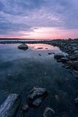 Gåsholma with Nisi V6 Landscape (olleeriksson) Tags: landscape sweden sunset nisi v6 water coast