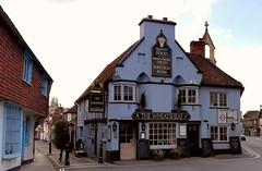 The Wheatsheaf Inn, Midhurst. (Gerry Hat Trick) Tags: pub public house hotel hostelry blue east sussex elizabeth1
