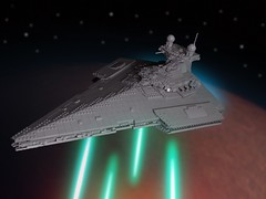 Victory 1 Class Star Destroyer - Gallant (malengarek) Tags: gallant stardestroyer class victory lego starwars
